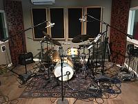 Today in the studio... (photo upload thread)-hr-quartet-11-8-19-drums.jpg