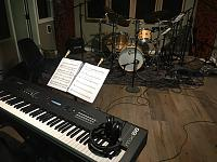 Today in the studio... (photo upload thread)-hr-quartet-11-8-19-keyboard-drums.jpg