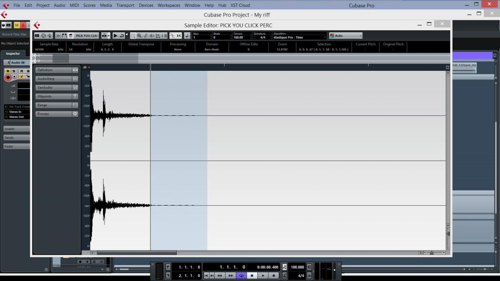 Need help with cubase audio import - Gearslutz