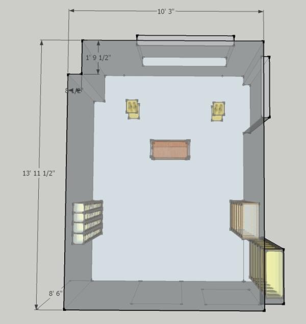 Treating 10' X 14' Room  Gearslutz Pro Audio Community. Door Skylights. 110v Garage Heater. Vw Garage North East. Backyard Door. Garage Door Off Track Repair Cost. Store Front Doors. Replacement Glass For Front Door. Steel Roll Up Doors