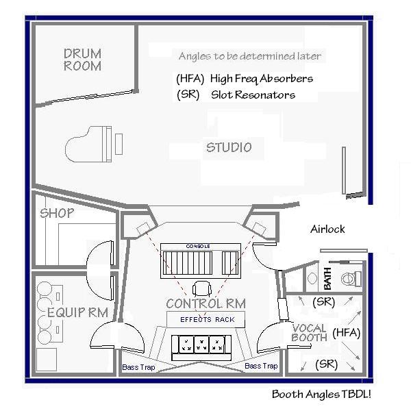 Recording Studio Designs Plans   Google Search | Estúdio De Gravação |  Pinterest | Estudio De Gravação, Projetos E Desenhos