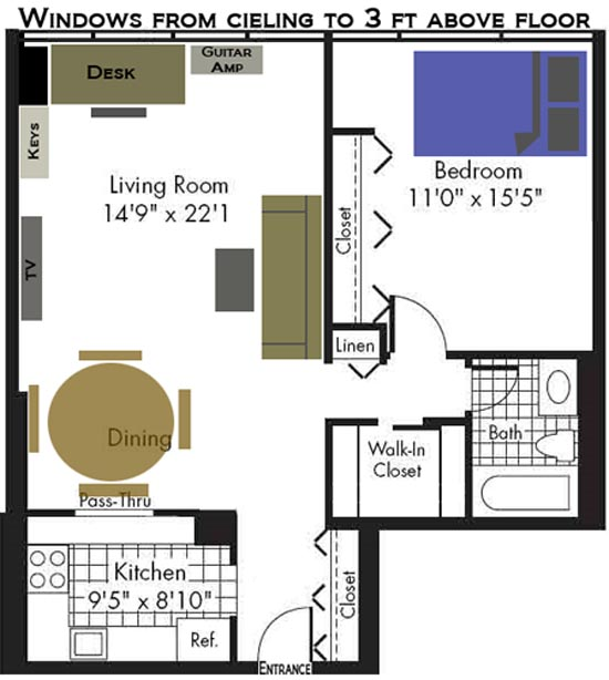 Studio apartment set up beautiful studio apartment setup for Studio apartment setup ideas