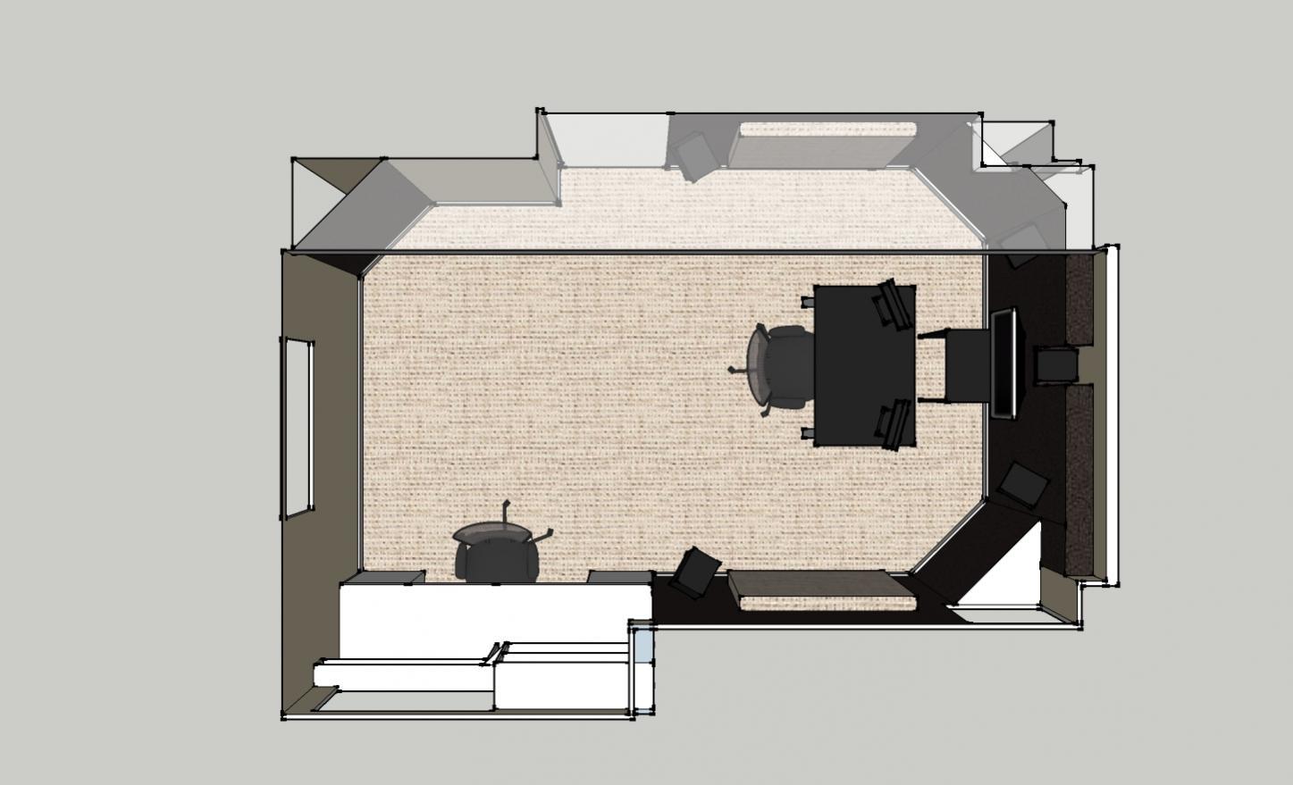 Small sound design room opinions please gearslutz for Room design diagram