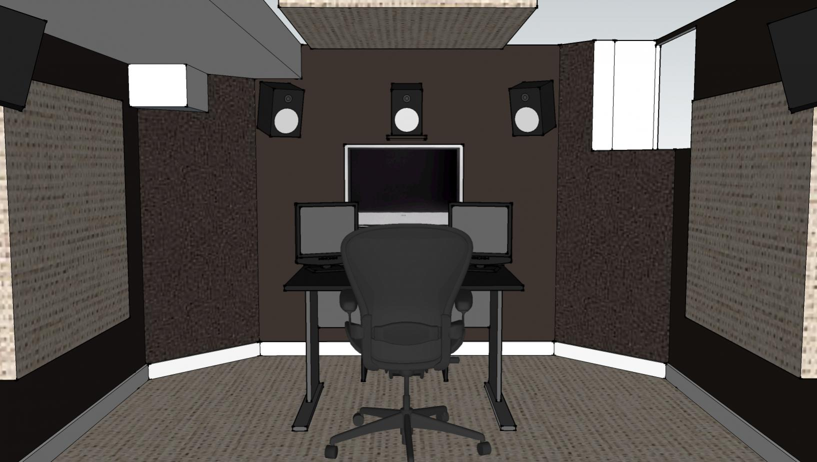 Small Sound Design Room Opinions Please