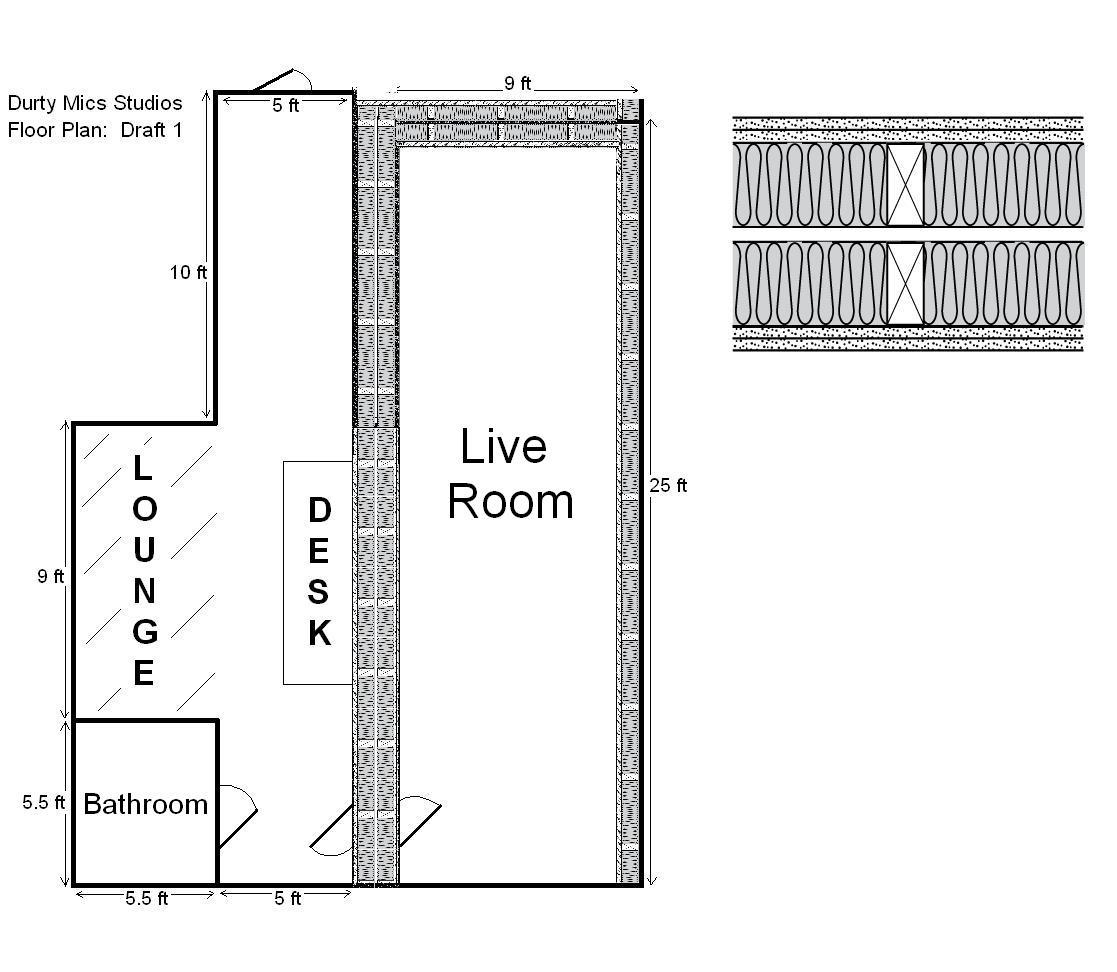 Building Studio In 500 Sq Ft Warehouse Space Gearslutz