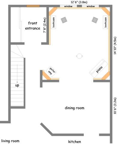 My music room to be gearslutz pro audio community for Music studio floor plans