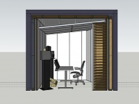 Need some advice on soundproofing and acoustic treatment of my tiny studio-hcstudio1_persp_left.jpg