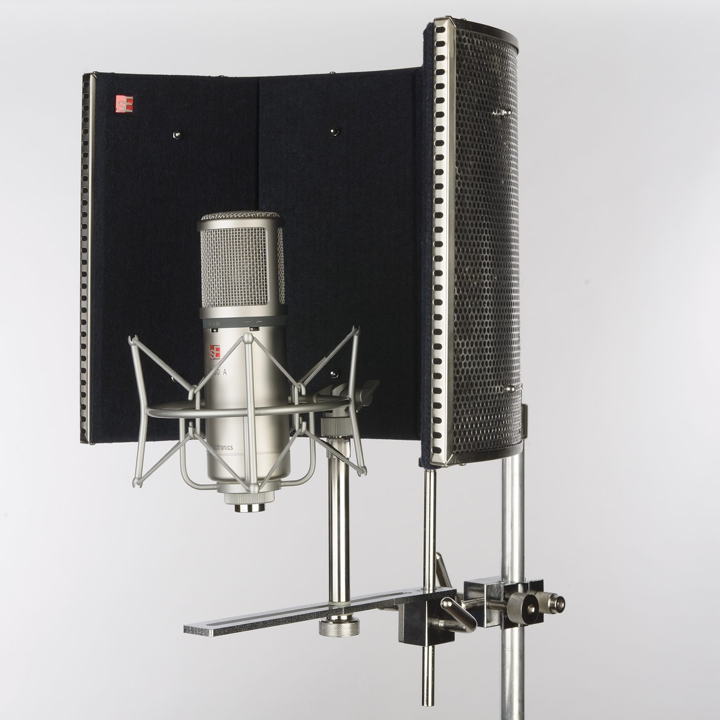 recording booth in the closet. Black Bedroom Furniture Sets. Home Design Ideas
