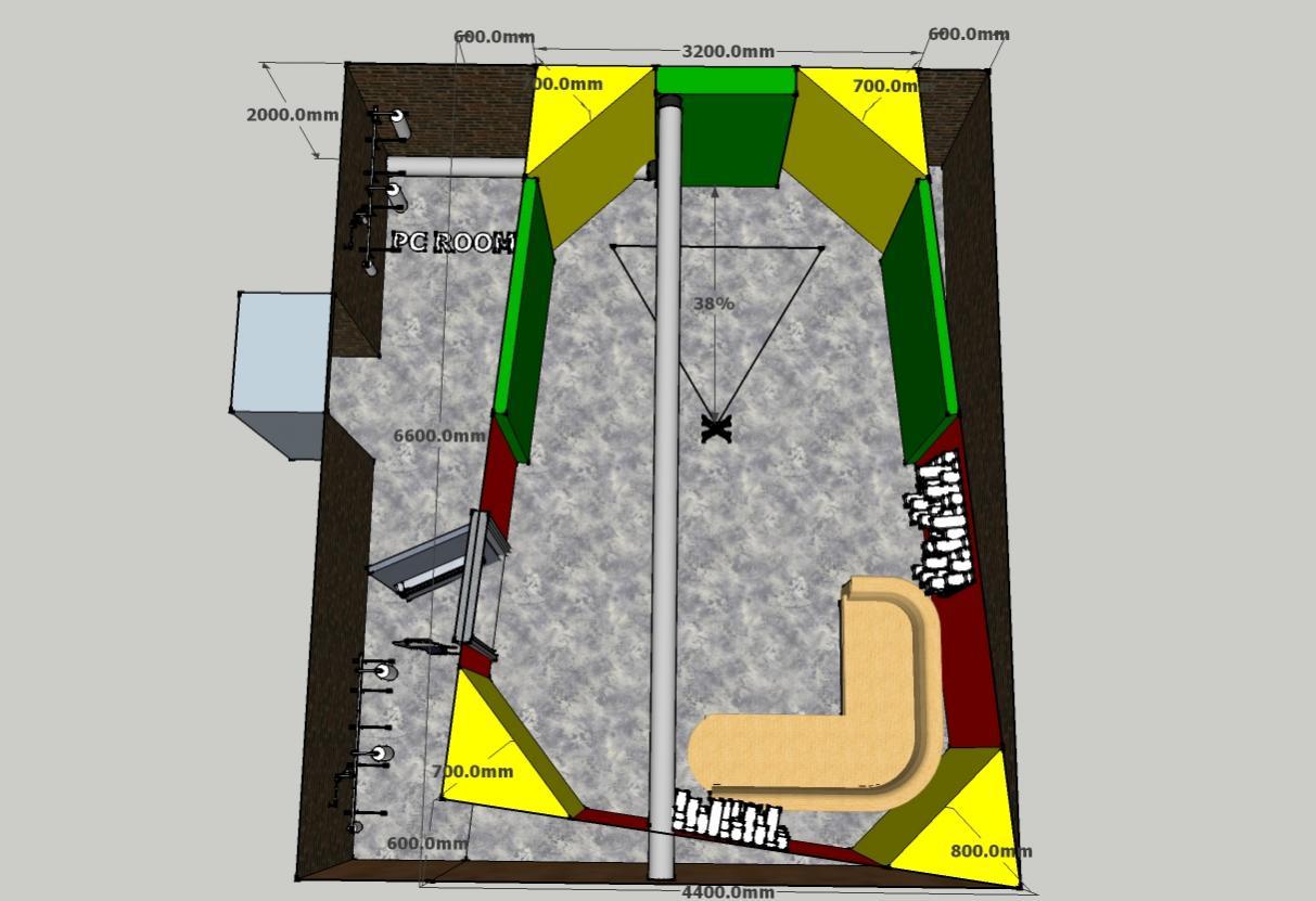 Small basement room, please help^^ - Gearslutz.