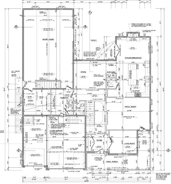 Studio design for new house construction gearslutz pro for New construction house plans
