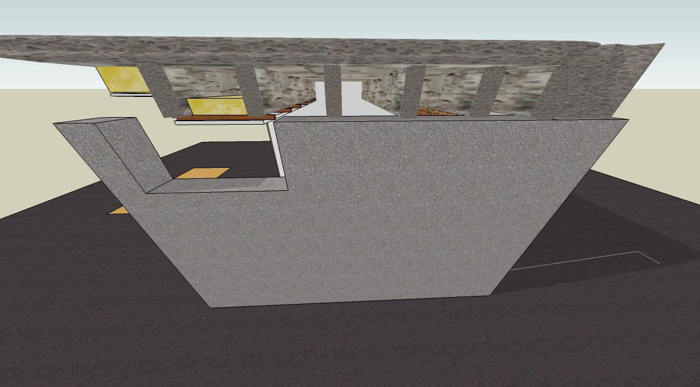 small basement studio concrete ceiling ceiling soundproof