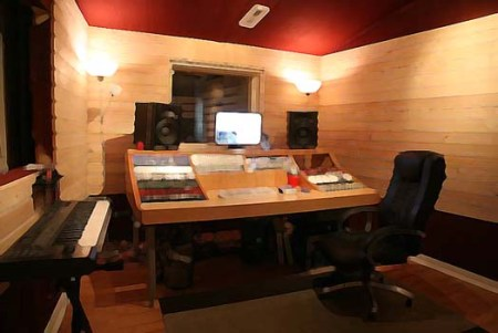 Home Music Studio Design | Home Interior Design Trends - Small Recording Studio Design Ideas