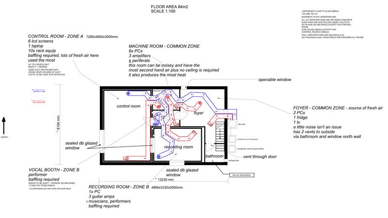 Inline bathroom exhaust fan - Hvac Design For Concrete Basement Gearslutz Pro Audio
