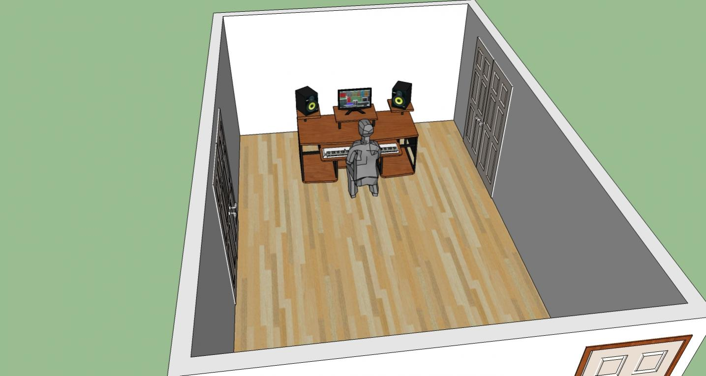 Little Studio Layout Ideas And Suggestions Front Wall Jpg