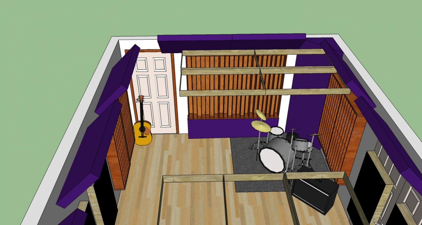 Little Studio Layout Ideas And Suggestions Rear Wall Jpg