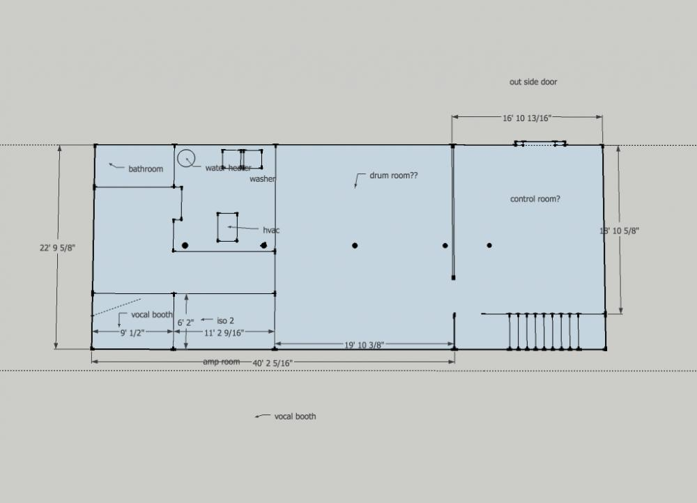 1400 sqft dry basement design idea 39 s gearslutz pro for Basement design ideas plans