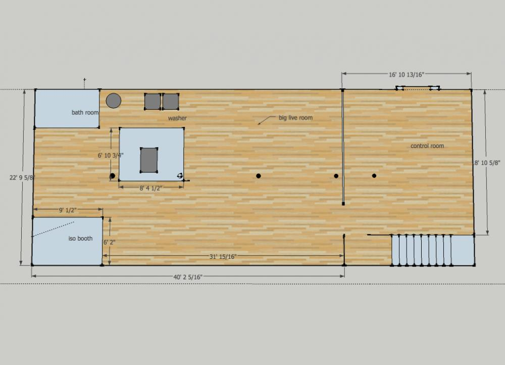 1400 sqft dry basement design idea 39 s gearslutz pro for Basement layout