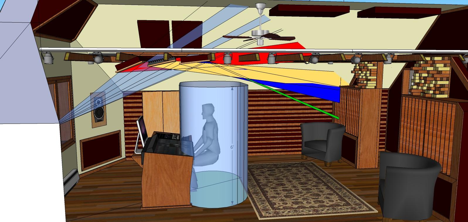 Remarkable Control Room Build Modes Soffits Slat Walls Etc Page 6 Largest Home Design Picture Inspirations Pitcheantrous