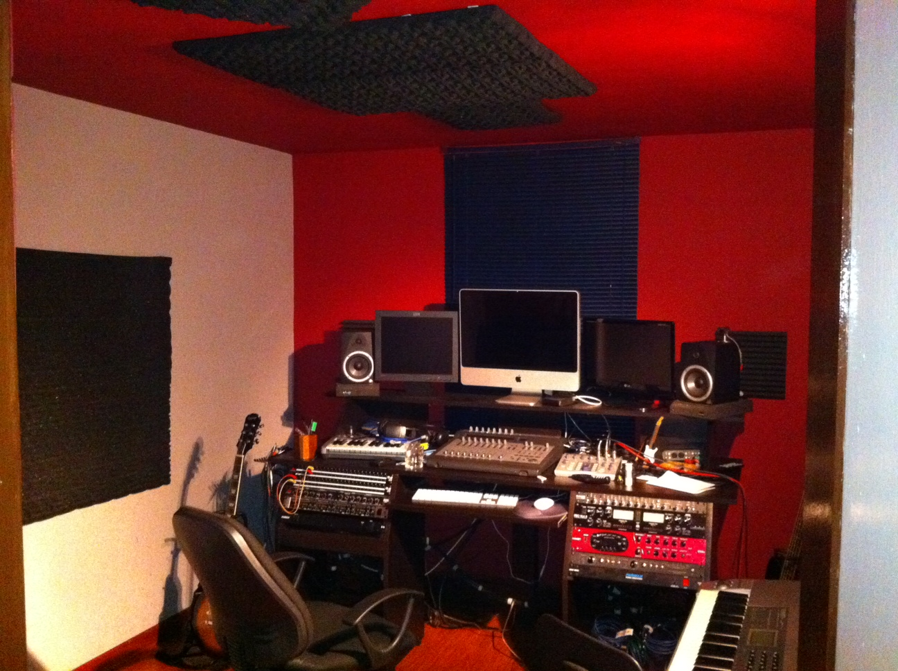acoustic treatment in a small room gearslutz pro audio