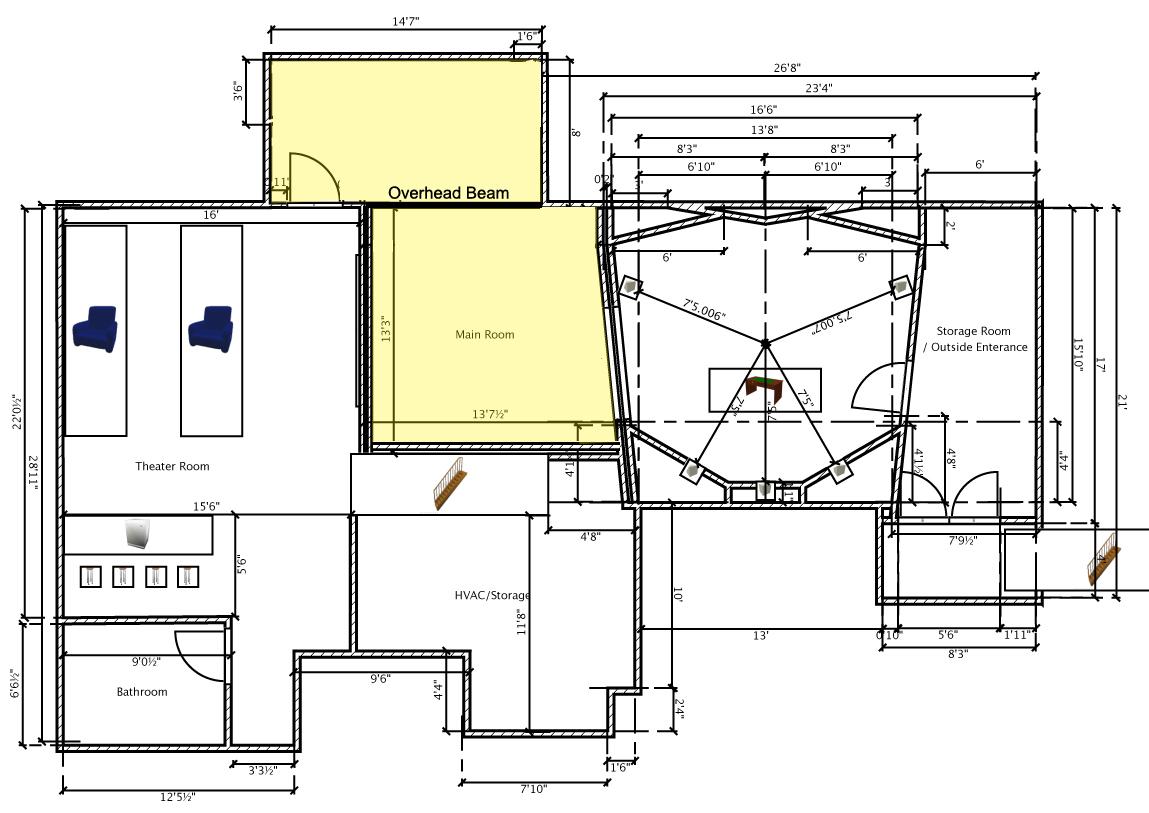 Basement studio new construction gearslutz pro audio for New construction basement