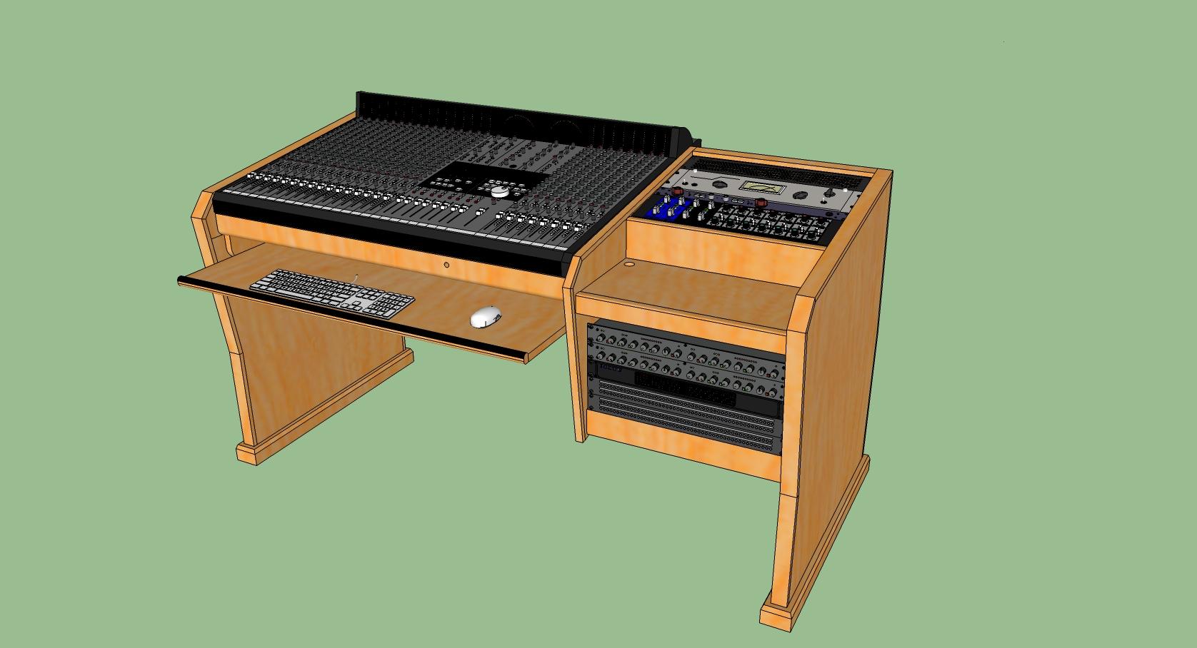 wooden desk design plans | woodproject