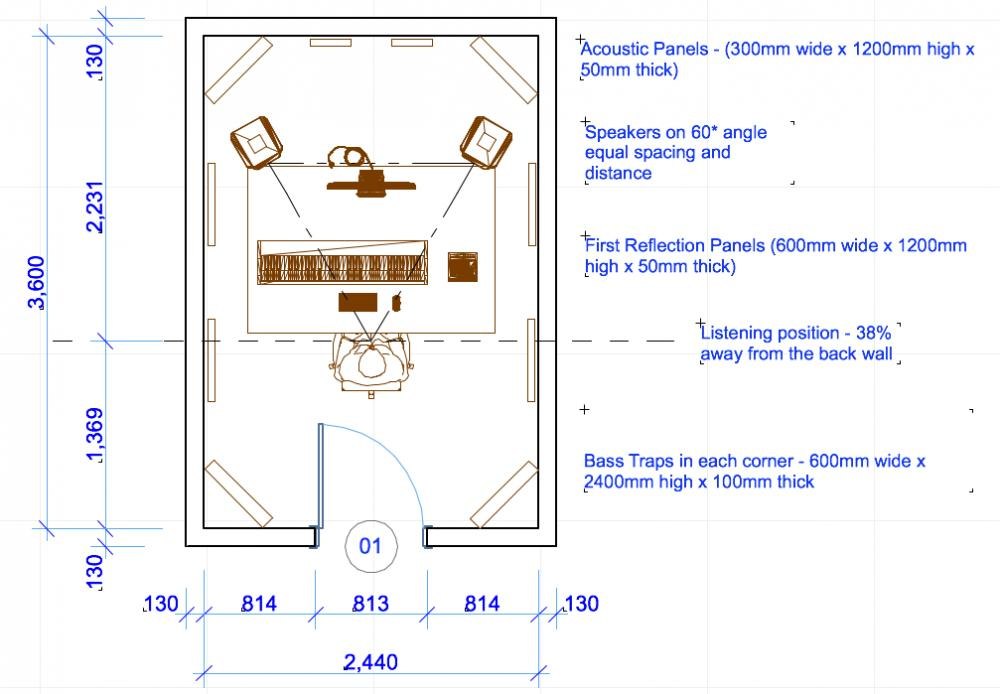 Small Art Studio Plans