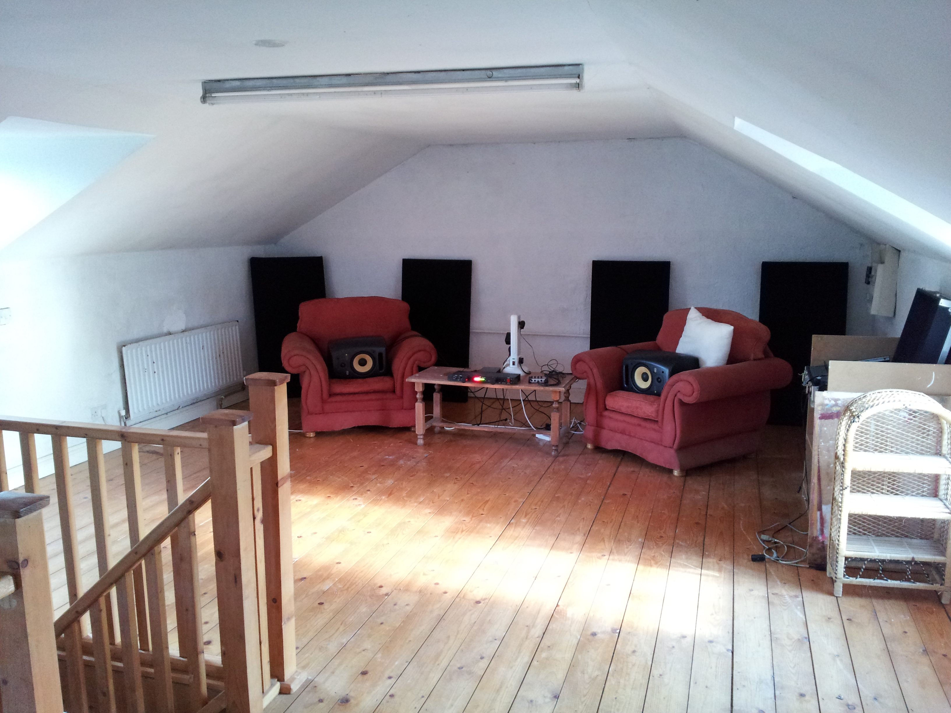 new home for our home studio large attic space gearslutz pro new home for our home studio large attic space 2011 08 20