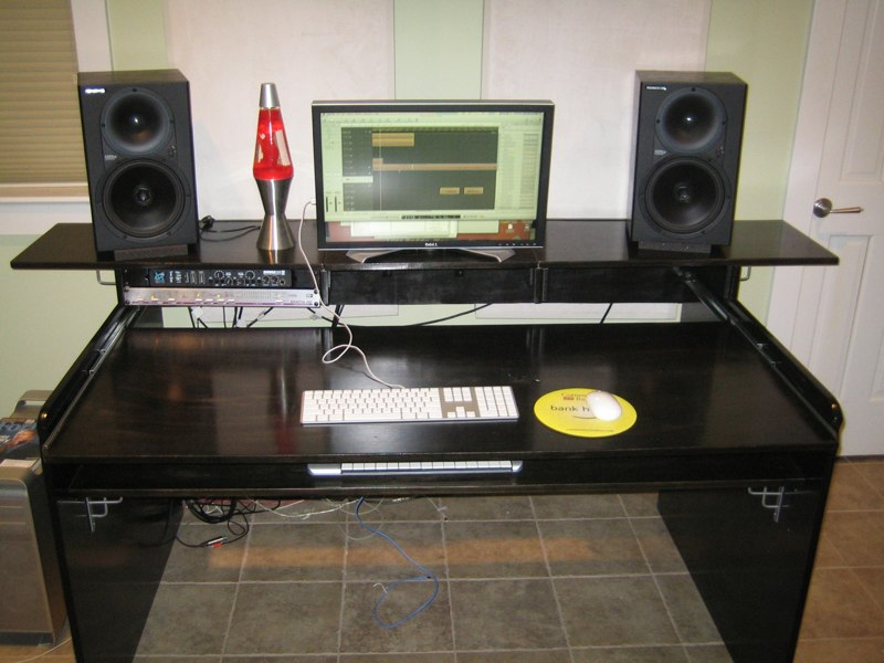 DIY Desk: Question on Slides (rails) for Desk - Gearslutz Pro Audio ...