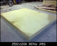 Best use of this giant memory foam pad I found-foam.jpg