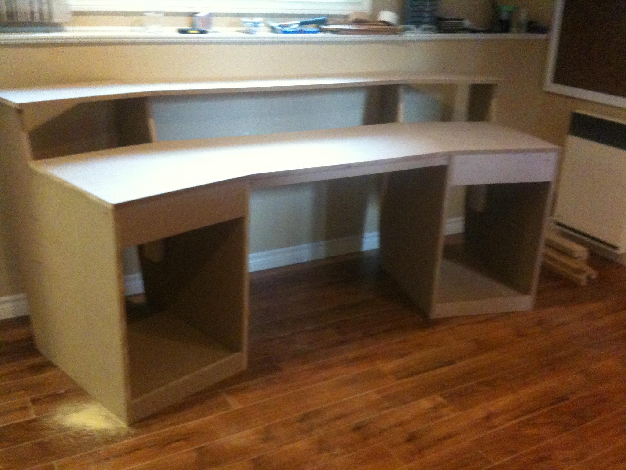studio desk plans diy pdf woodworking. Black Bedroom Furniture Sets. Home Design Ideas
