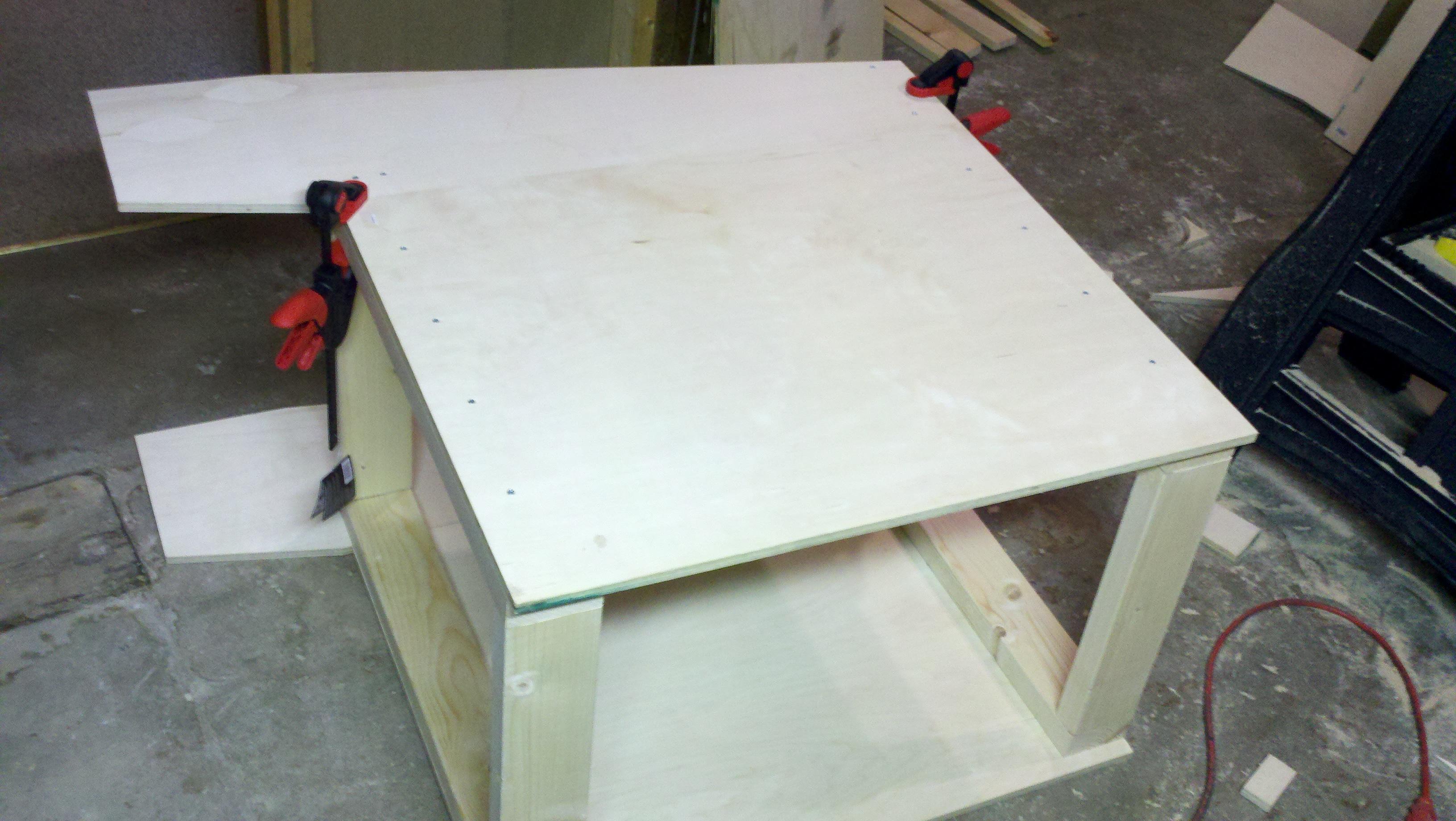 New Studio Desk Build Inspired By Aaroneous Gearslutz