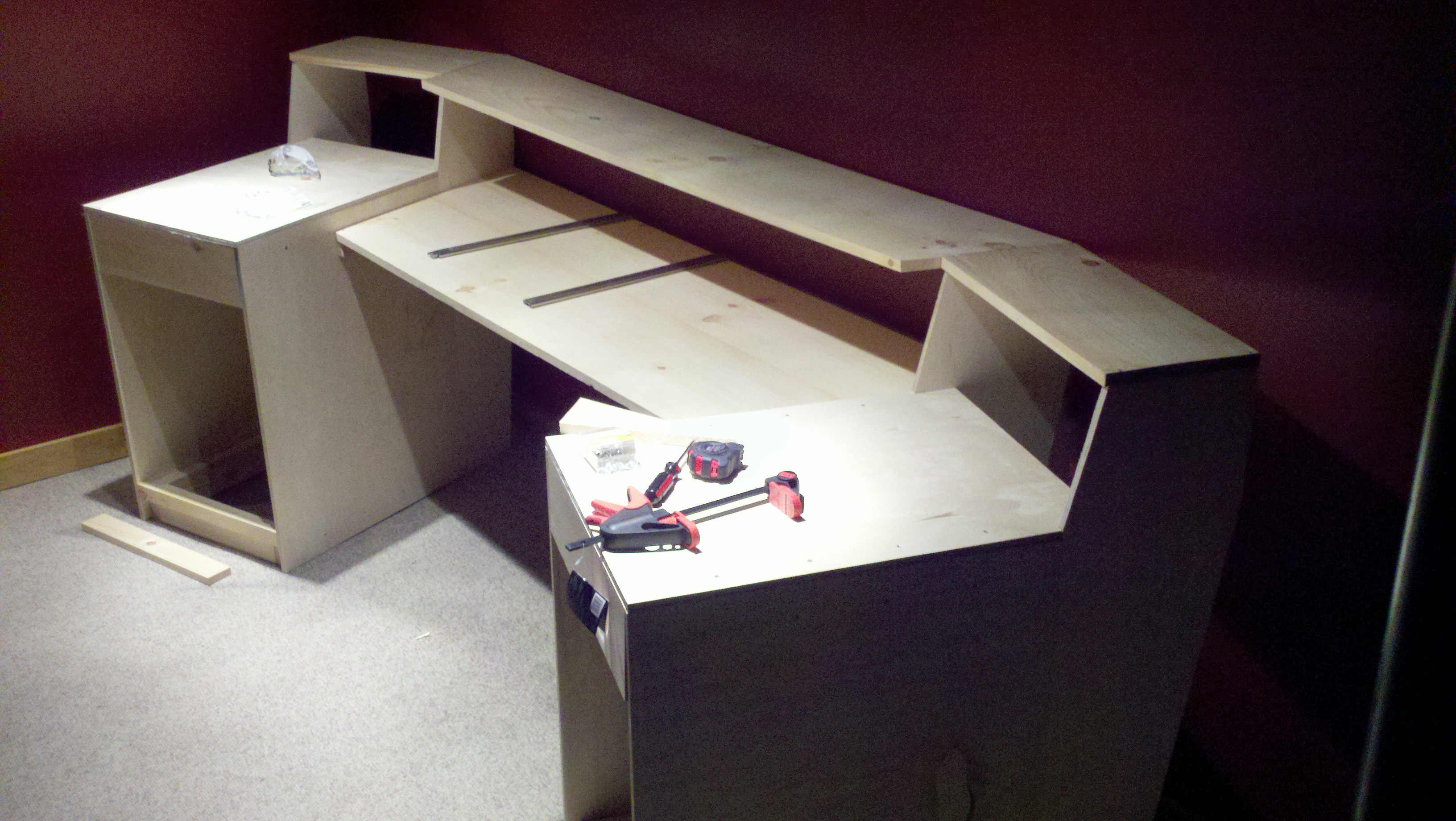 Design Make Your Own Desk build your own desk plans diy modern farmhouse and unique of for my favorite all in one loft bunk bed with trundle own