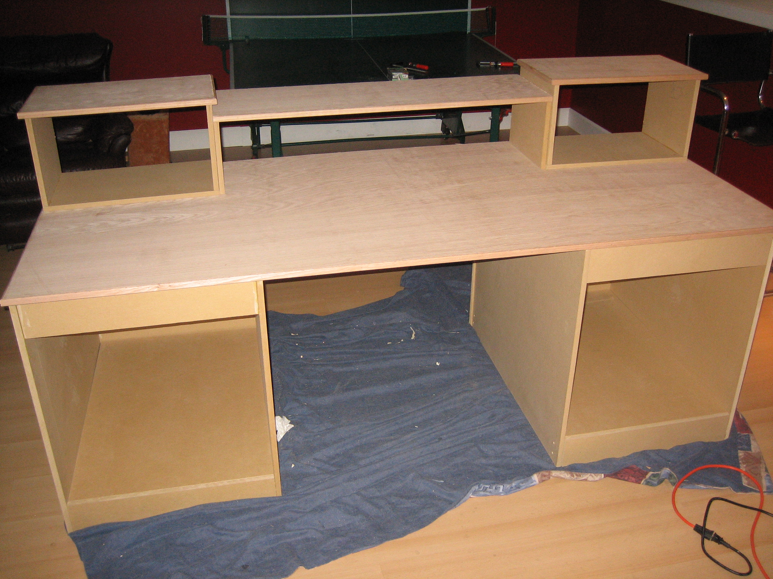 build a studio desk plans | Quick Woodworking Projects
