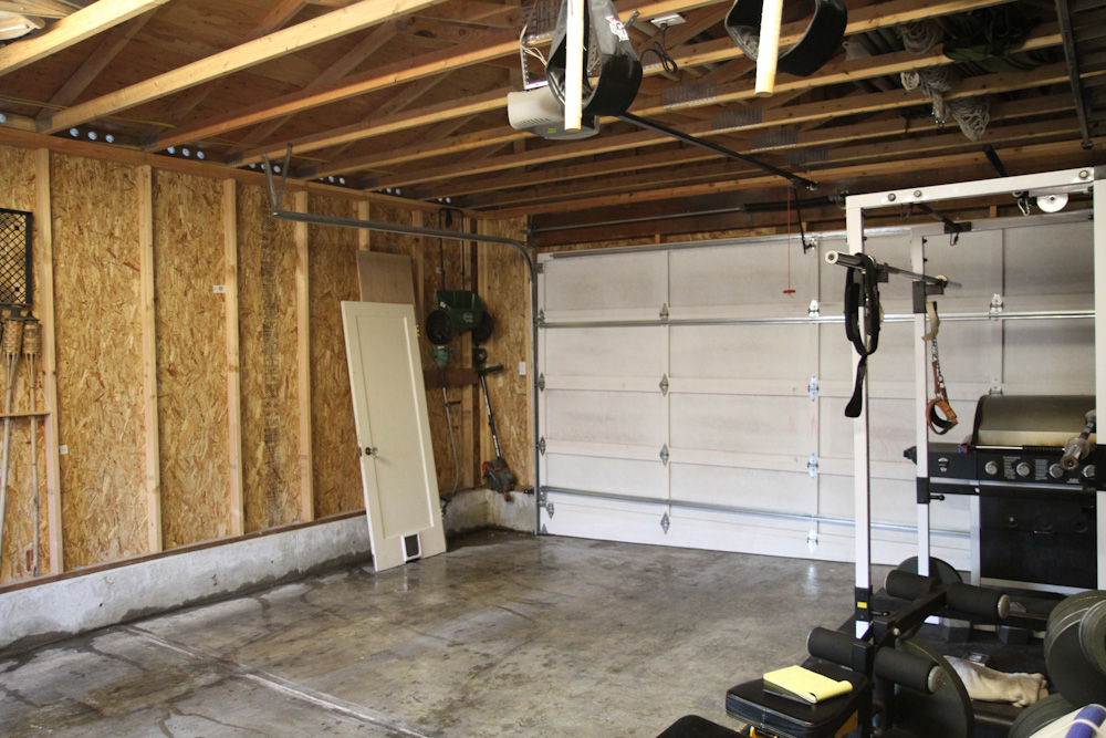 garage soundproofing ideas - Just bought a house with a detached 2 car garage Need