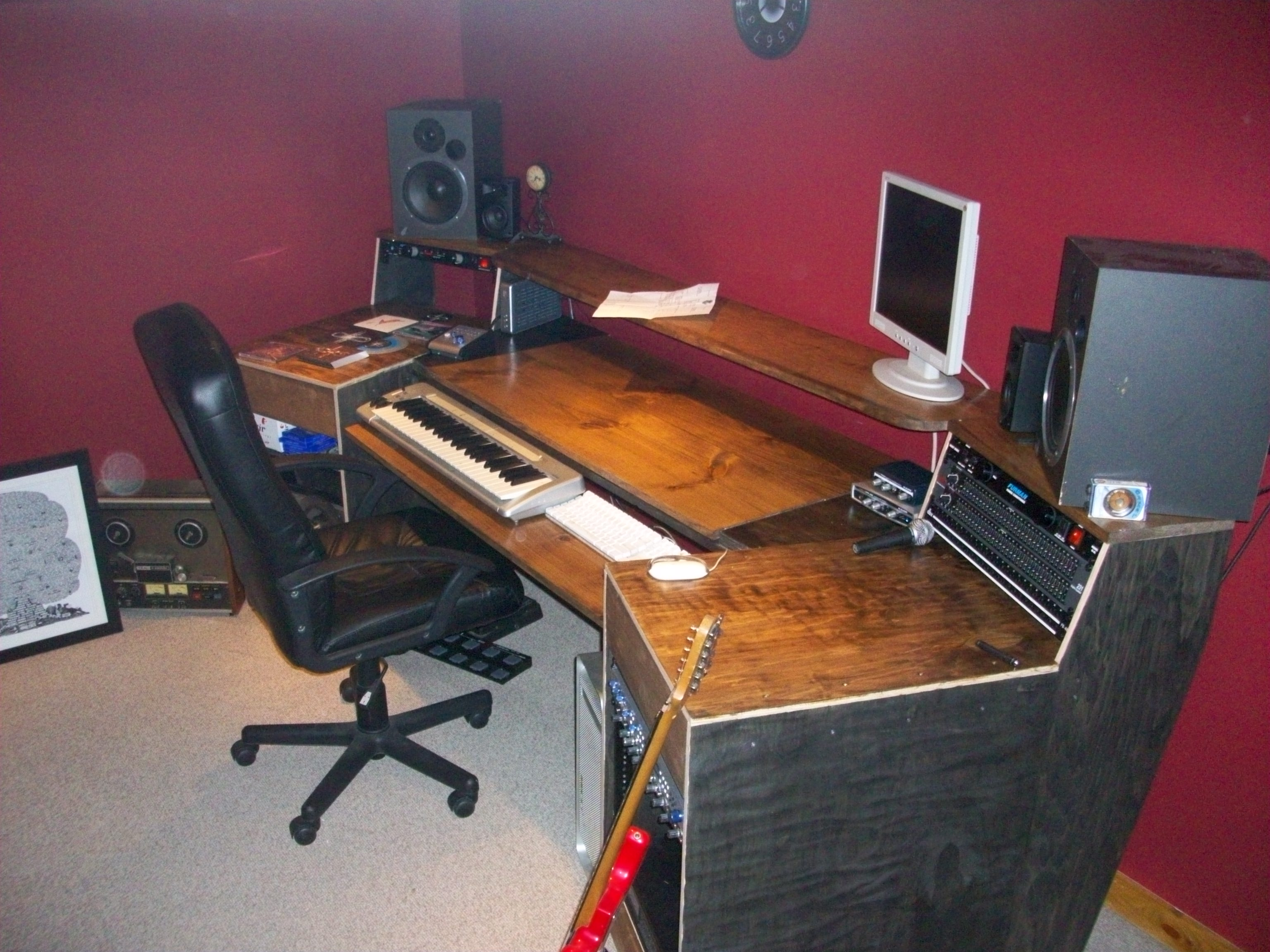 Build A Studio Desk Plans, How… | Wood Project and DIY