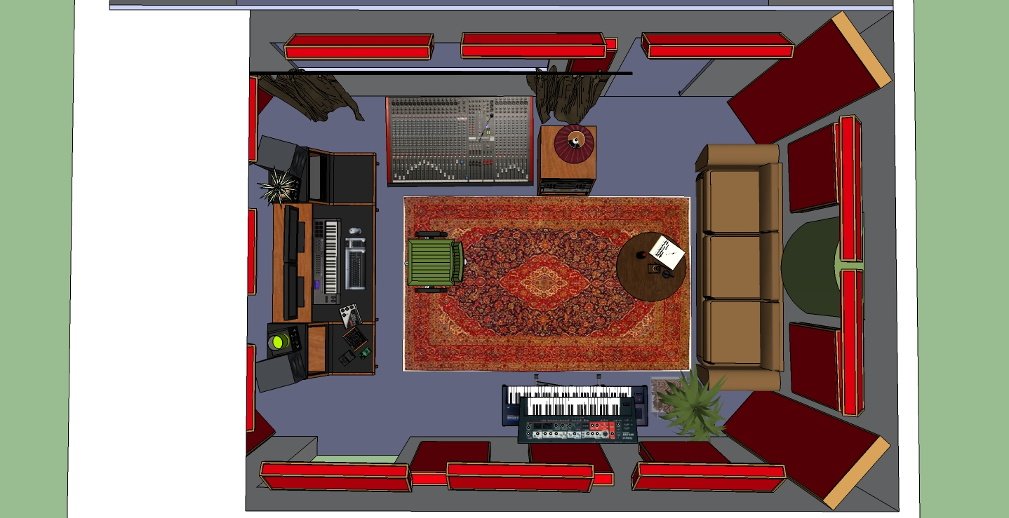 Terrific Opinions On Our Control Rooms Acoustic Design Please Largest Home Design Picture Inspirations Pitcheantrous