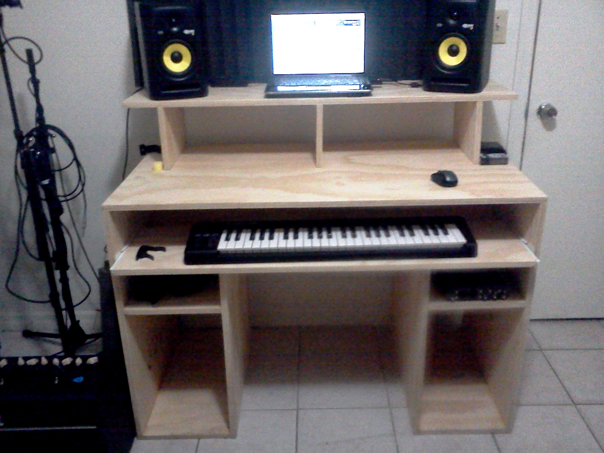 My Diy Recording Studio Desk 021412225201 Jpg