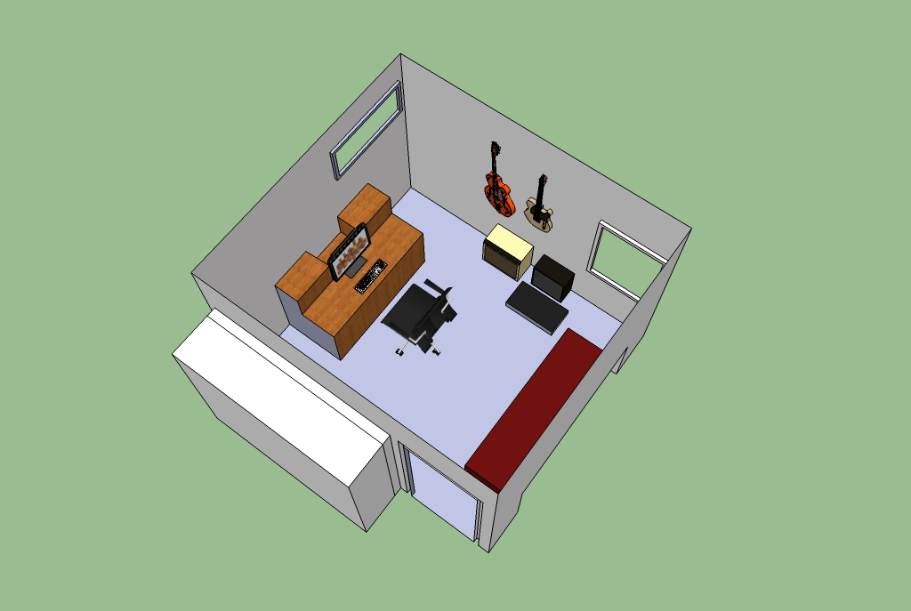 Thoughts on small room 10 5 x 9 5 x 8 5 gearslutz pro for 8 by 10 room design