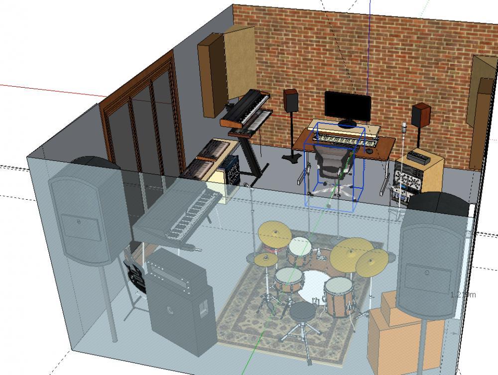 Practice Space Listening Room In 1 Gearslutz