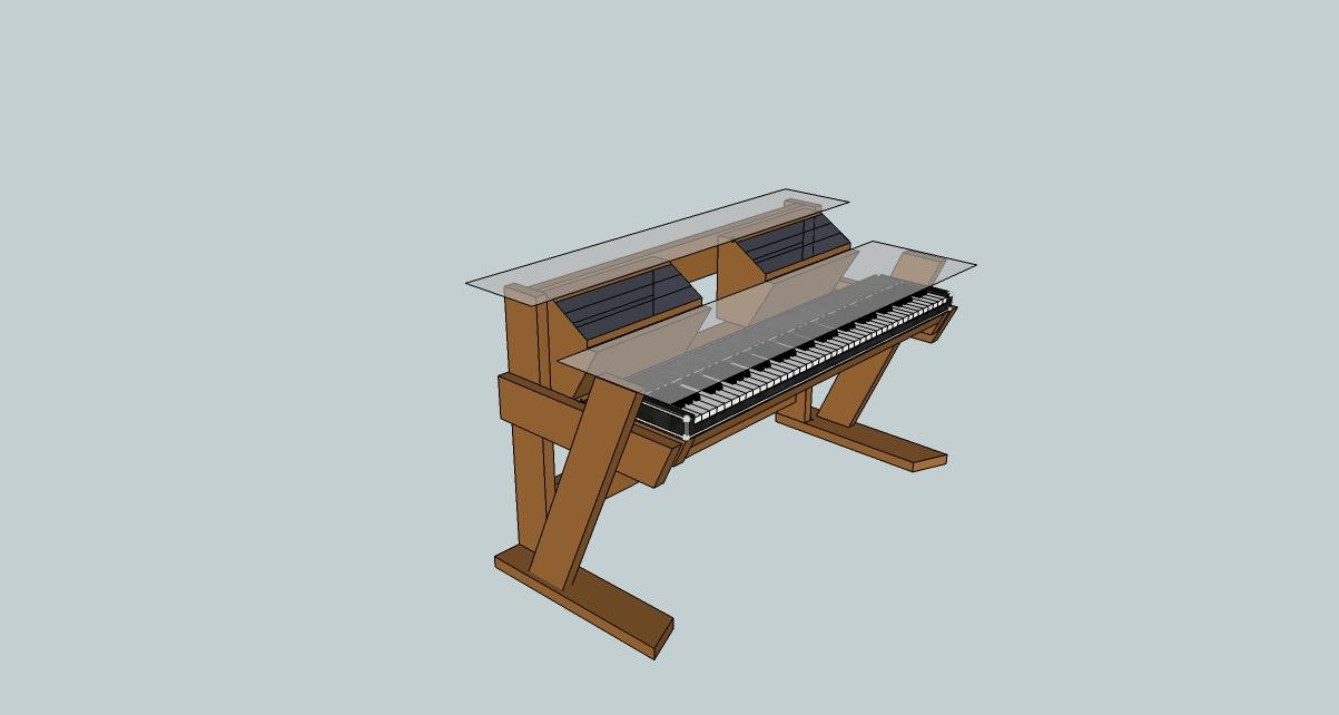 Diy Studio Desk Keyboard Workstation Under 0 Economy Jpg