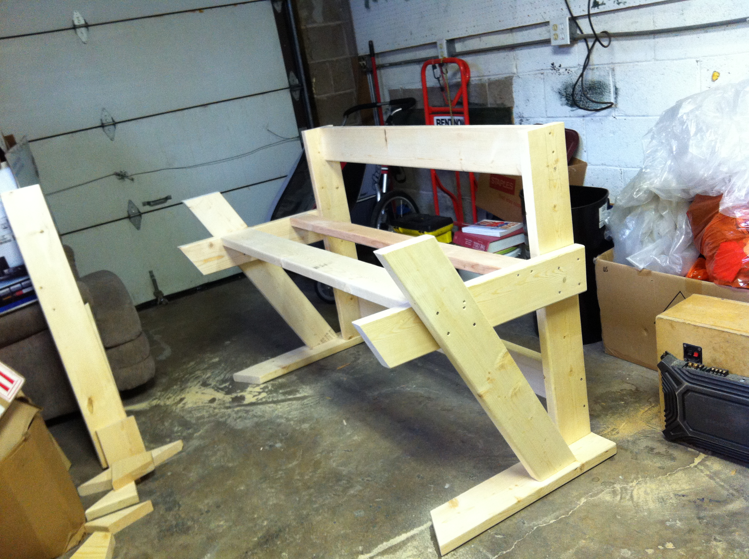 next i think i ll begin work on the rack. Black Bedroom Furniture Sets. Home Design Ideas