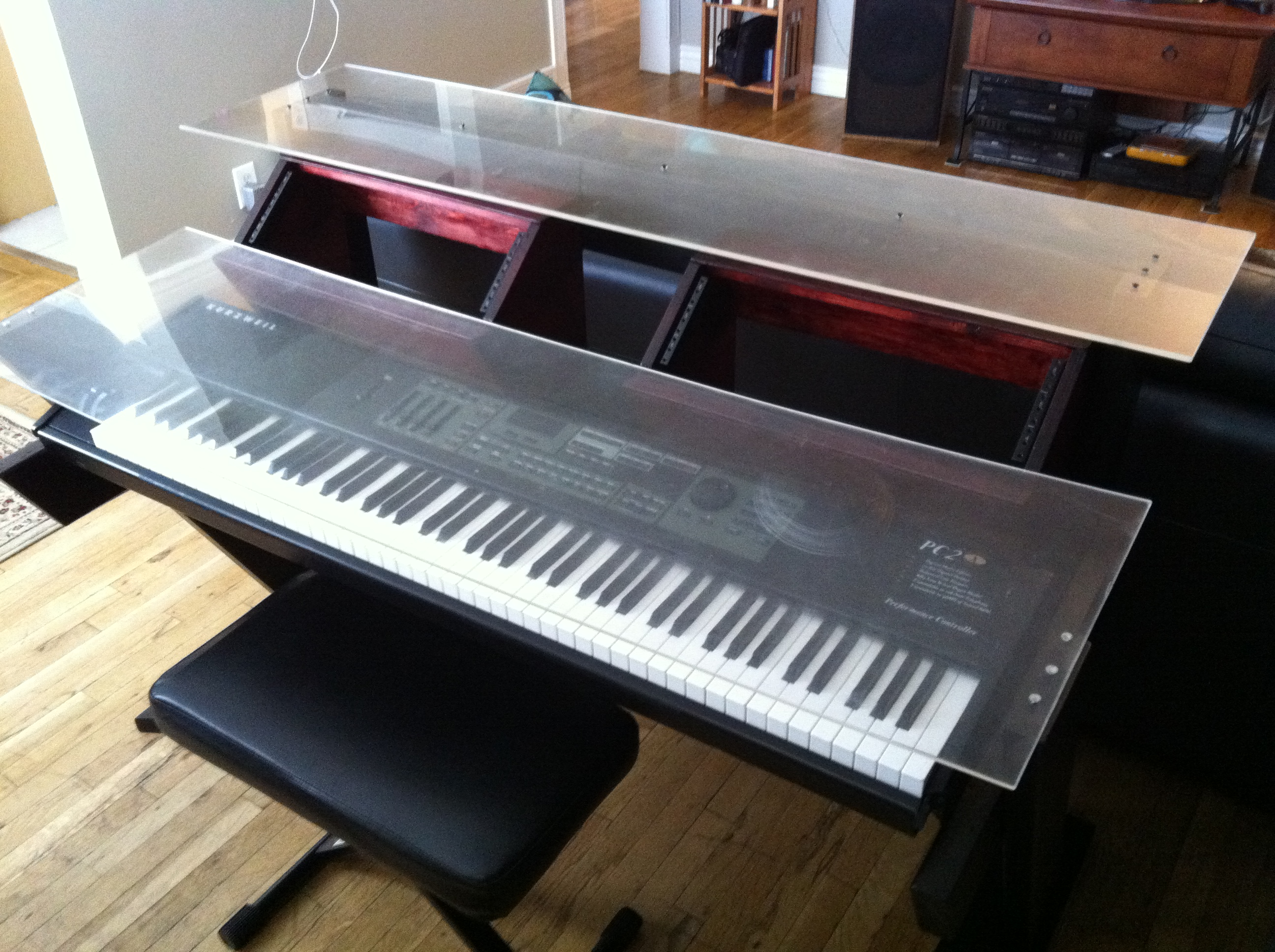 Diy Studio Desk Keyboard Workstation Under 100 Page 2 Gearz