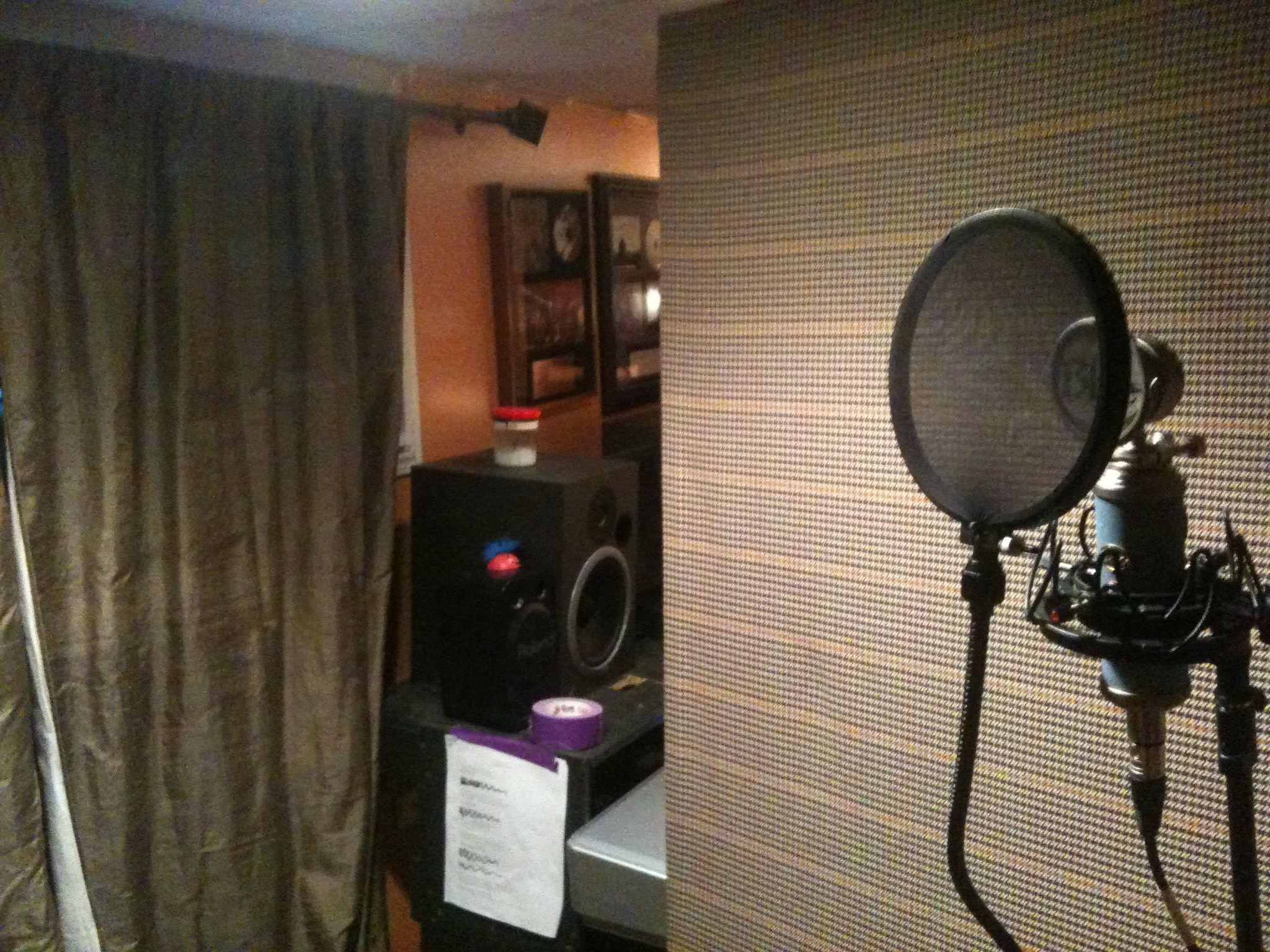 A Cheap Vocal Booth Gearslutz Pro Audio Community