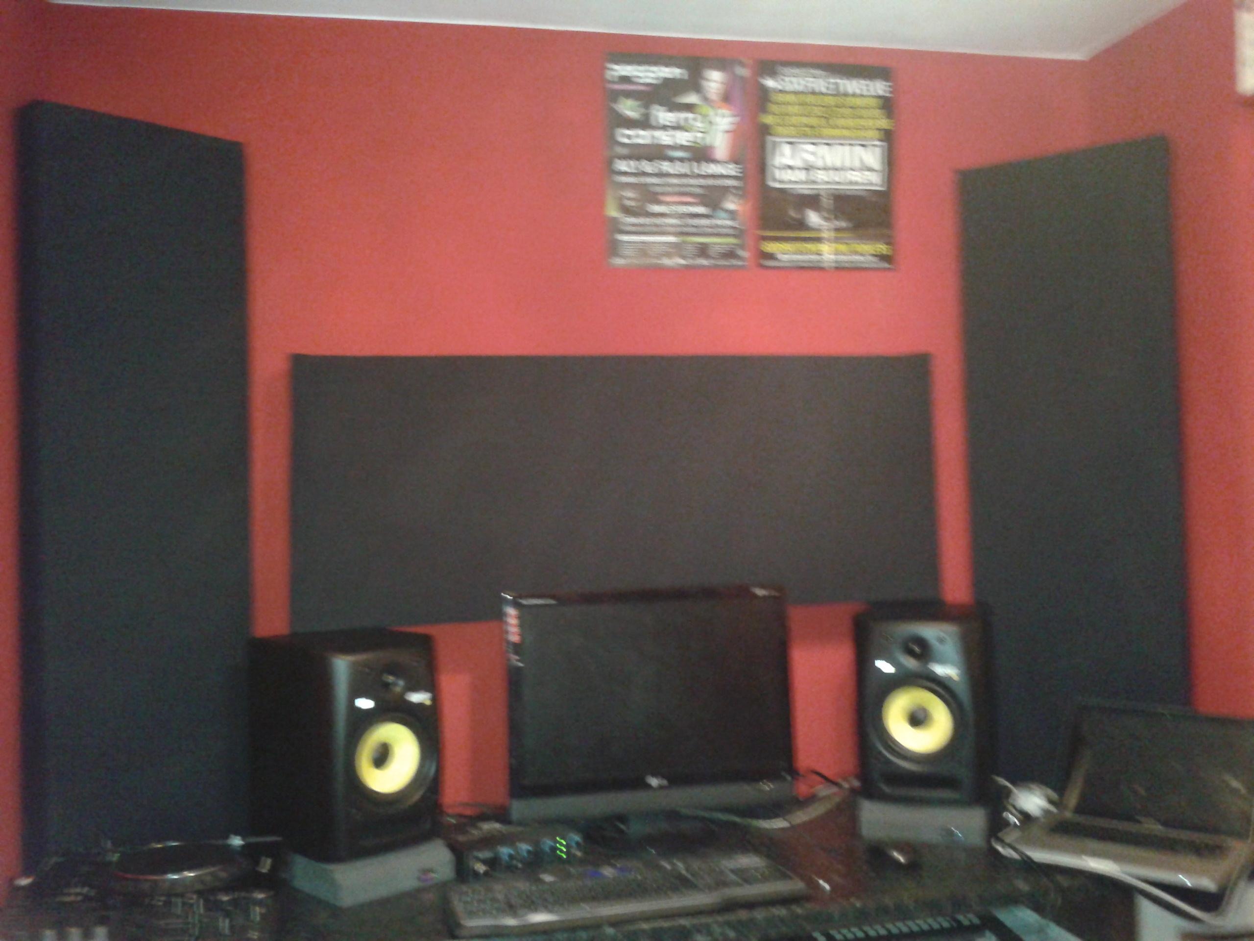 Bass Trap Placement In Small Studio Gearslutz Pro Audio