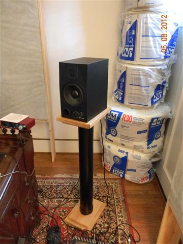 Monitor speaker stand diy