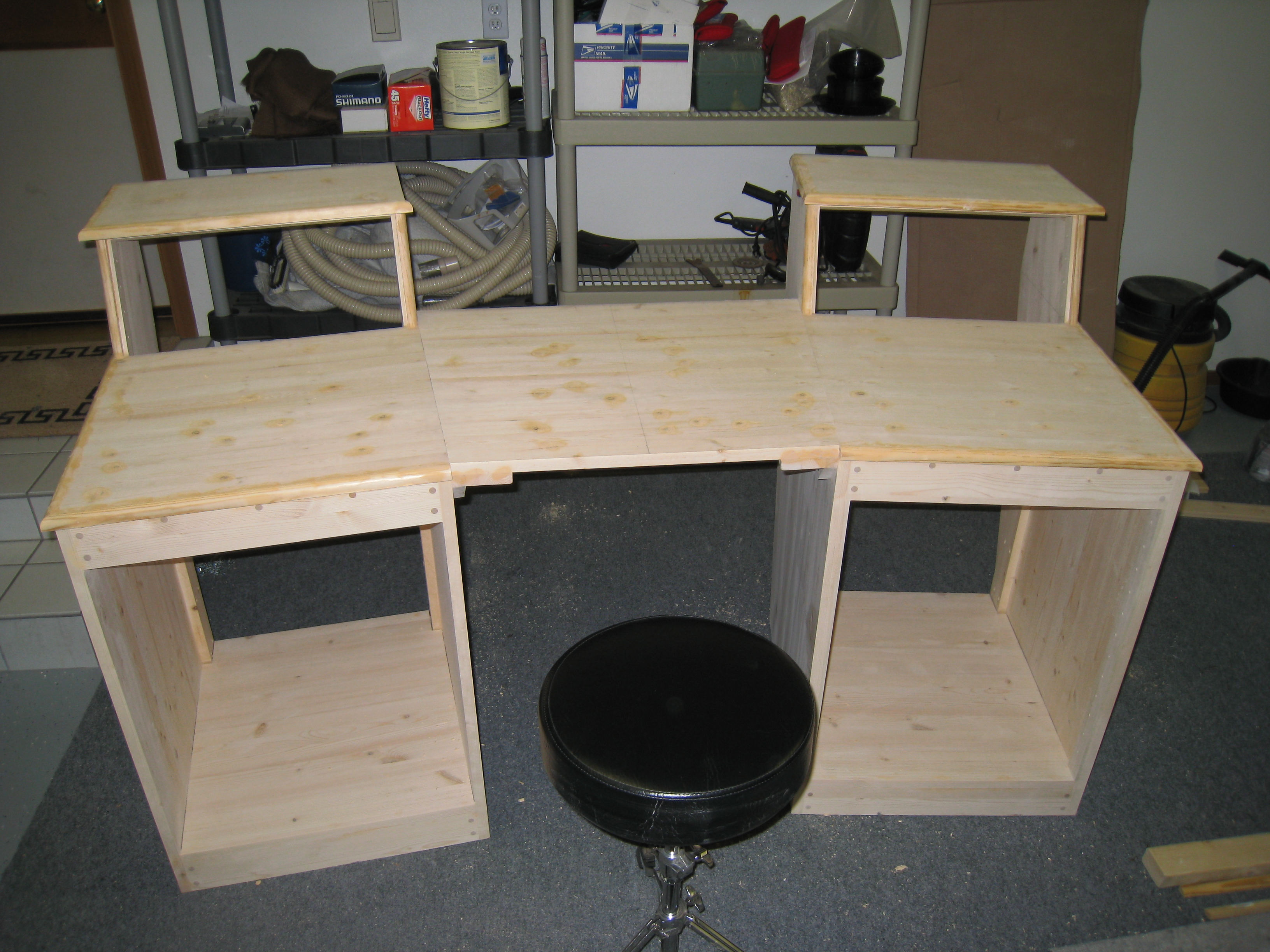 Sound Construction Studio Desk Clone Build Page 2