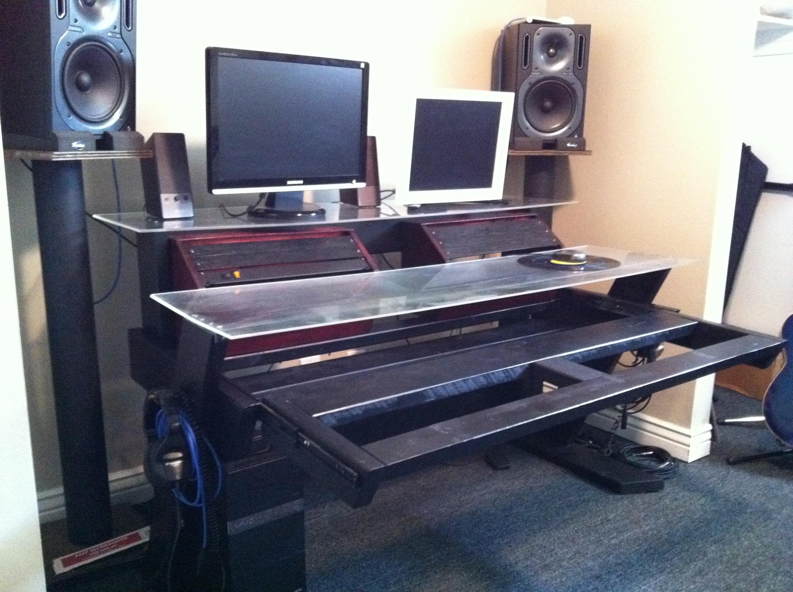 Diy Studio Desk Keyboard Workstation Under 100 Page 3