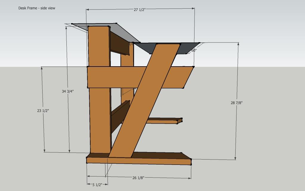 diy studio desk keyboard workstation under 100 page 3. Black Bedroom Furniture Sets. Home Design Ideas
