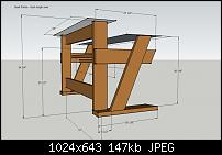 DIY Studio Desk/Keyboard Workstation under 0-studio-desk-dimensions-desk-frame-back-angle-view.jpg
