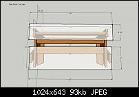 DIY Studio Desk/Keyboard Workstation under 0-studio-desk-dimensions-desk-frame-top-view.jpg